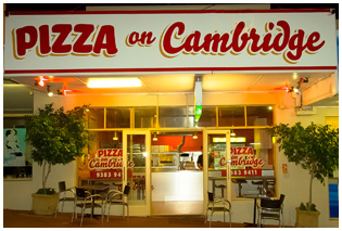 pizza on cambridge